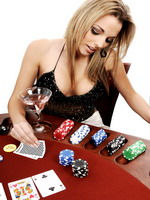 best poker babe